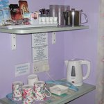 Tea/coffe making facilities