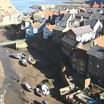                    A lovely Saturday afternoon overlooking Staithes