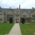                    The Front view of Trerice feb 2013