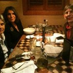 Dinner at Carrabas , Xmas Eve--