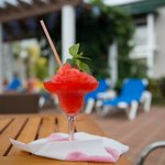 Daiquiri by Jorge at the privilege pool bar
