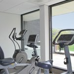 Small Fitness Area technogym and Kenessis