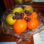 Complimentary fruit