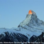 Matterhorn from the balcony