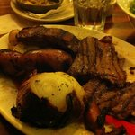 Combinaation Asado- this is a half order!