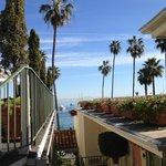 Good morning, Catalina! (The view from our room's sliding door!)