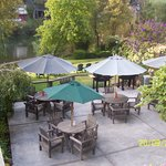 Enjoy the Russian River from our patios and lawns