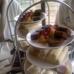                    Afternoon tea around the pool