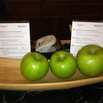                    Complimentary Apples offered at Reception desk