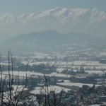                    View of the Alps from Mondovi