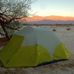 Camping at Furnace Creek, Site 119
