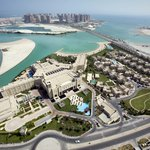 Bird view of Grand Hyatt Doha