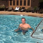                    The wonderful outdoor pool @ L&#39;Auberge Sedona.