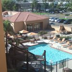 Swimming pool at the Courtyard Marriott Phoenix Airport