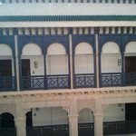 Rooms from the courtyard