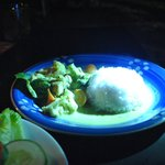 Green Curry Chicken RM 12 or so, taste good