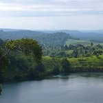 one of the nearby crater lakes