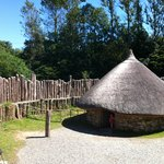 Irish National Heritage Park - inside the Ringfort