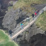                    The Carrick a Rede rope bridge