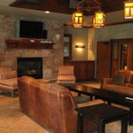                                      Rec room at Riverbend Lodge