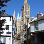 Truro, just around the corner from The Man