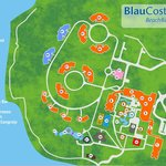 New Resort Map that includes the new section