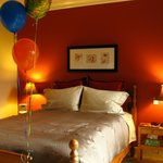 Sleep (balloons, special surprise for a guest's birthday)