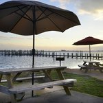  Picnic tables/Pier Bayside of Hotel