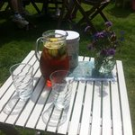 Pimms in the Sunshine