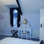                    Blue room ~ delightful, comfy, spacious and quiet.