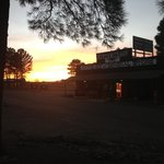                    Sunset at Black Bart