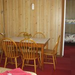                                     Dining area in family unit