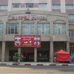                    Front view of Central Hotel