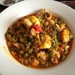                    Shrimp and Okra dish