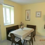 Dining-two bedroom apartment