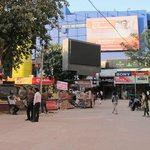                    PVR cinema and shop area