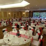                    my gorgeous venue all set up