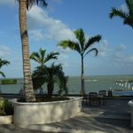 view from Tonys Inn Corozal Belize