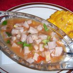 World's best ceviche!