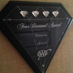 2013 AAA Four Diamond Award