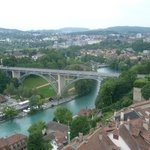                    Bern - view from Bern Minster (Berner Mnster)