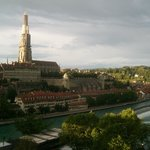                    Bern - view from Kirchenfeldbrcke