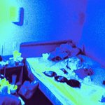 room inspection via uv light