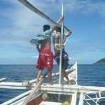                    Island-hopping