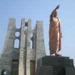                                     Nkrumah statue