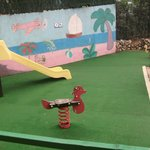 Childrens play area - Joke!