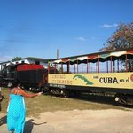 Ride the sugartrain thru a cane field