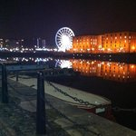                    opposite the hotel - Albert Dock
