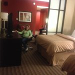                    Roomy suite