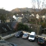                                      view of Loughrigg fell from room 219